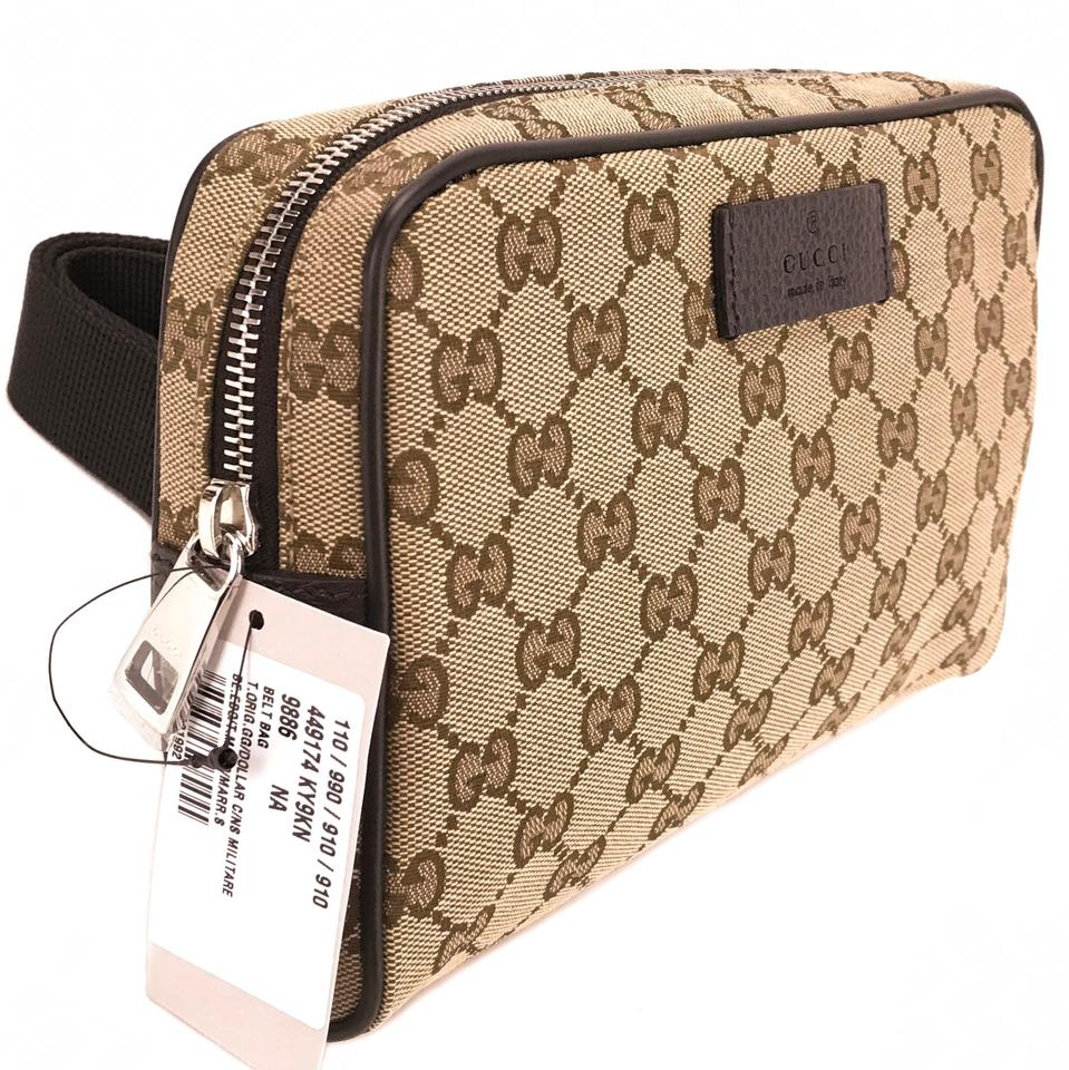966cd46becfc Gucci 449174 Gg Guccissima Belt Bag/ Fanny Pack Multicolor Canvas  Weekend/Travel Bag - Tradesy