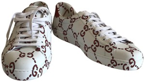 Gucci Ghost Ace Sneakers White Athletic