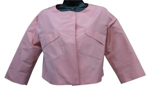 Miu Miu Made In Italy Cropped Top SALMON