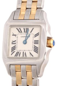 Cartier 18K Gold and Stainless Steel Panthere 20MM Watch