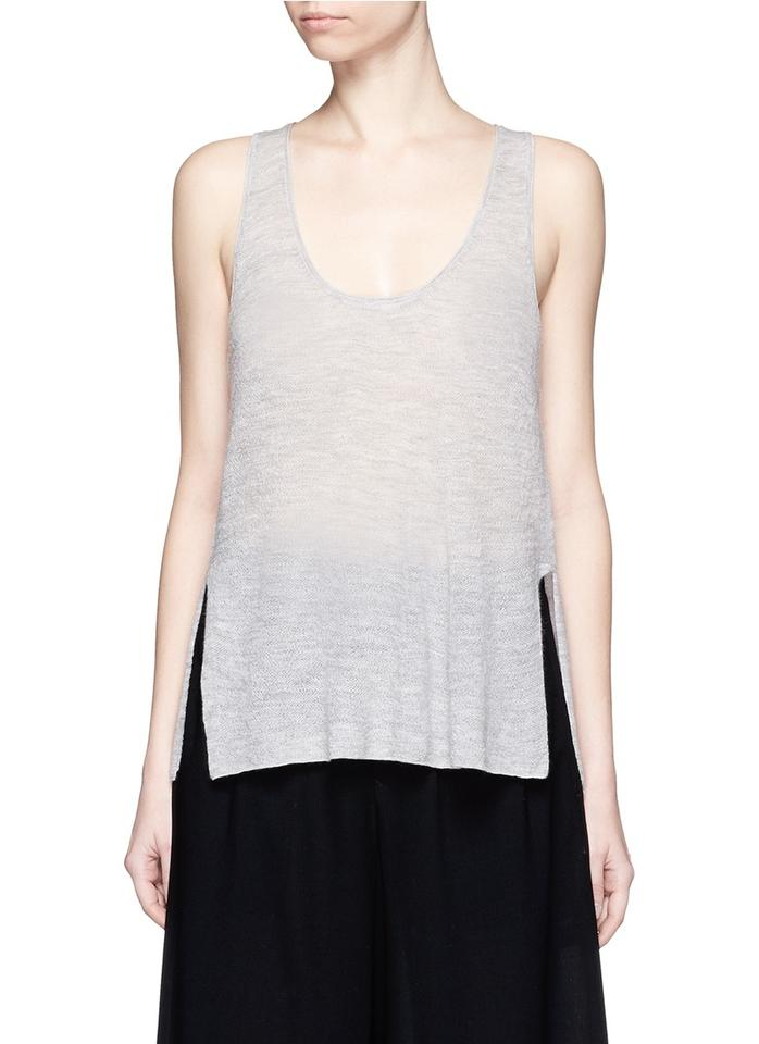 Racerback Grey Low Nwt Lang Pullover Cashmere Tank Helmut High Sweater xOnSpqHHwY