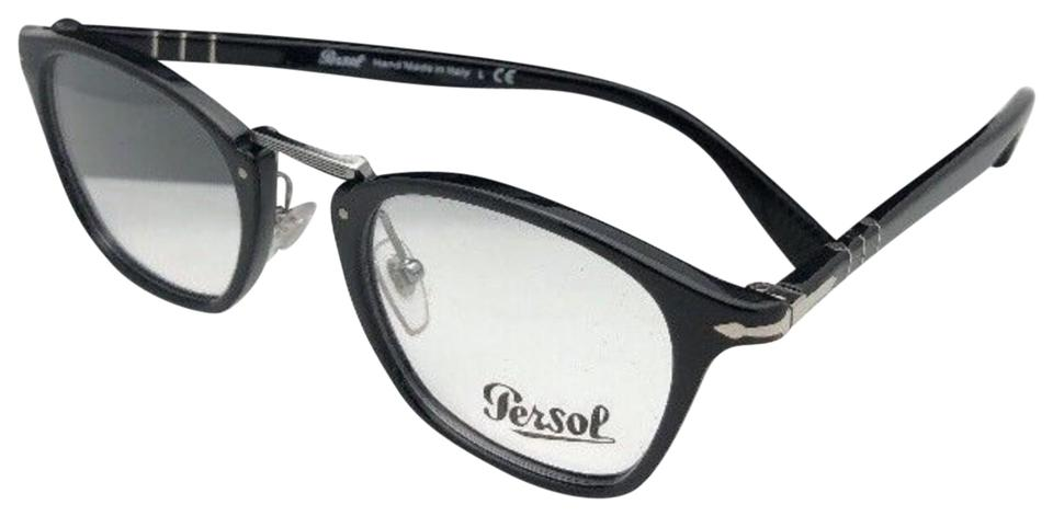 a5c05bd7afb Persol New PERSOL Eyeglasses Typewriter Edition 3109-V 95 49-22 145 Black  Image ...