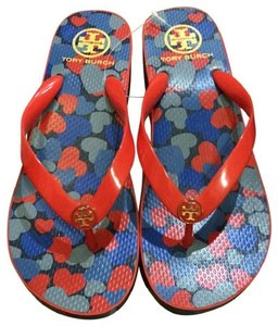 Tory Burch Flip Flop New Flip Flop blue Wedges