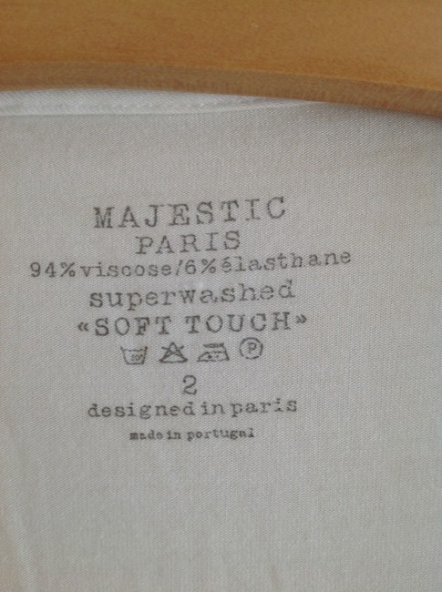 Majestic Filatures T Shirt white