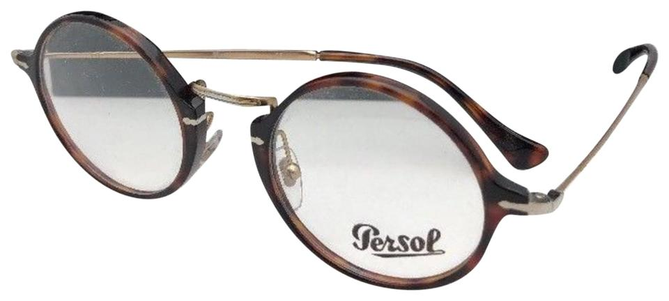 07ae35fdcad3d Persol New 3091-v 24 47-21 140 Tortoise Havana   Gold Round Frames  Sunglasses