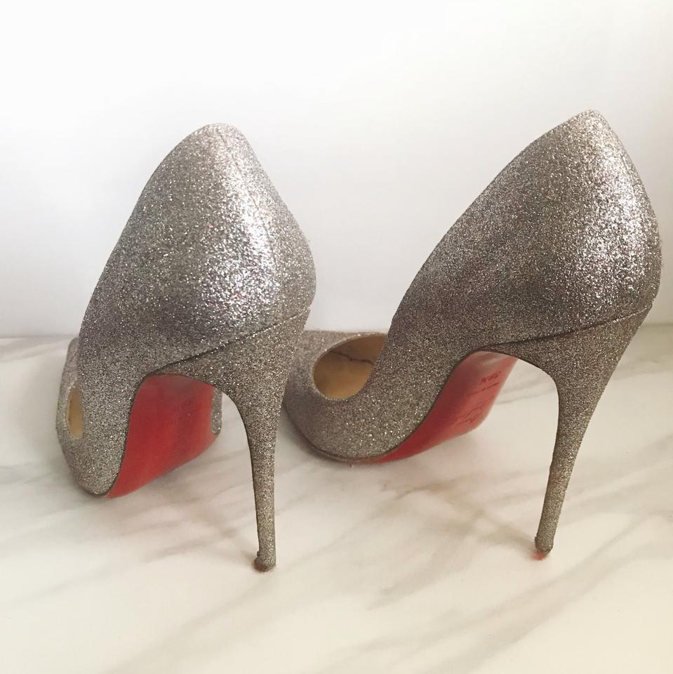 Glitter Mini Pumps So 120 Louboutin Kate Multicolor Christian FXgqw