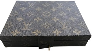Louis Vuitton Rare Vintage Louis Vuitton Jewelry Travel Box Case