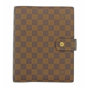 Louis Vuitton Authentic Louis Vuitton Monogram Agenda GM Day Planner Cover LV