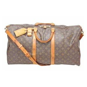 Louis Vuitton Bandouliere Lv Mono Tote Brown Travel Bag