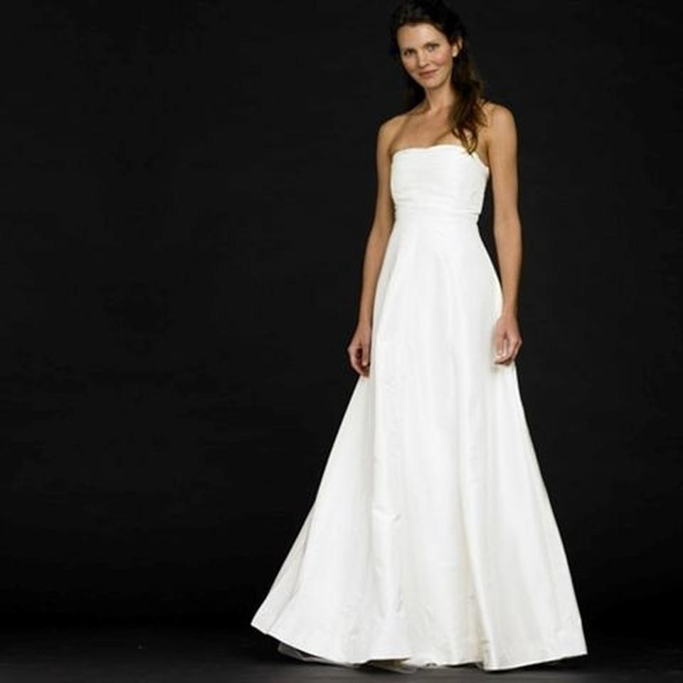 Silk Taffeta Wedding Gowns: J.Crew Ivory Silk Taffeta Sabine Destination Wedding Dress