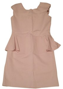 Zara short dress Blush Pink on Tradesy