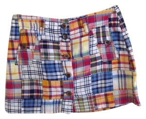 J.Crew Mini Skirt madras