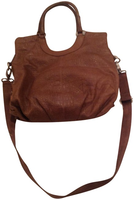 Item - Bag Bcbg Embossed Taupe Leather Tote
