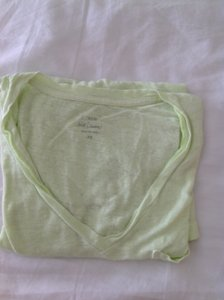 J.Crew T Shirt lime green