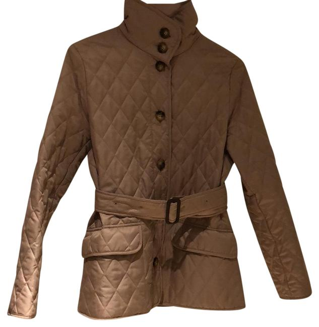 Item - Taupe Quilted Jacket Size 0 (XS)