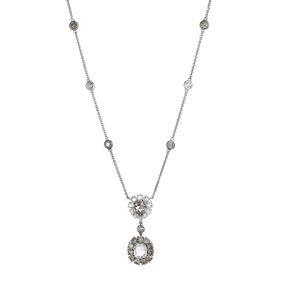diamond carat necklace wg brilliant catalog