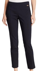 Tory Burch Straight Pants Navy Blue