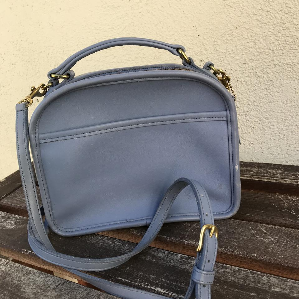 1c71fa8302d7 Baby Blue Leather Crossbody Bag | Stanford Center for Opportunity ...
