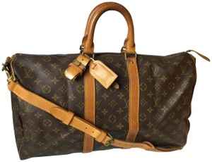 b38e3e4cb9c8 Louis Vuitton Keepall Bandouliere Keepall 45 Alma Neverfull Speedy Monogram Travel  Bag