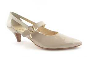 ec2f8c177c Paul Green Taupe Patent Leather Mary Jane Pumps Size US 10 Regular ...