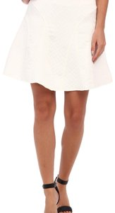 Aryn K Mini Skirt White