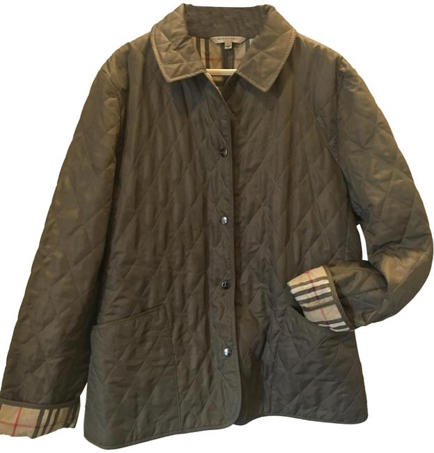 Item - Military Green London Classic Quilted Jacket Size 8 (M)