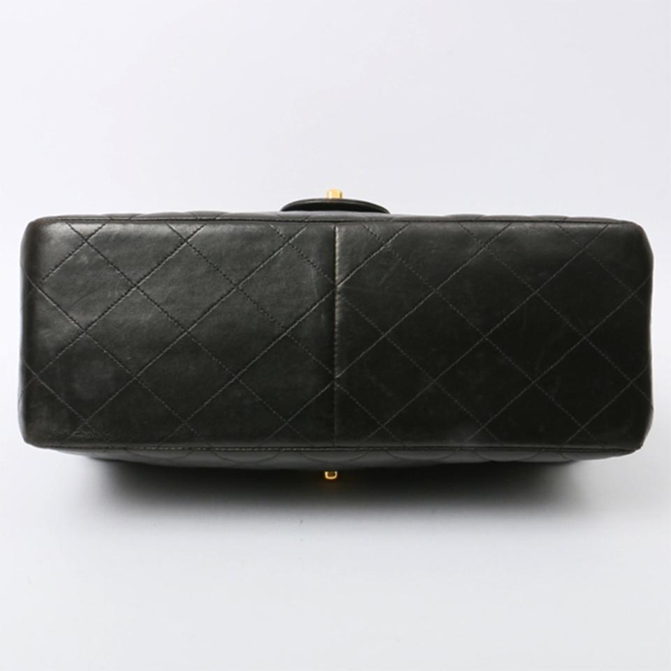 f9849e3870b8 Chanel Classic Flap Vintage Double Sided Black Lambskin Shoulder Bag -  Tradesy