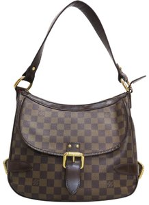 Louis Vuitton Lv Ebene Highbury Canvas Shoulder Bag