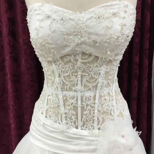 KittyChen Couture Ivory Tulle Lace Olivia New Sexy Wedding Dress Size 10 (M)