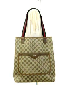 Gucci Web Sherry Shelly Shirley 2018 Tote in Brown