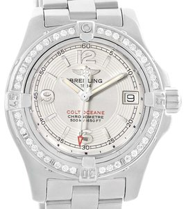 Breitling Breitling Colt Oceane Stainless Steel Diamond Ladies Watch A77380