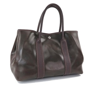 Hermès Garden Tote in Brown