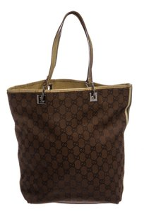 Gucci Tote in Brown and Green