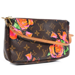 Louis Vuitton Monogram Stephen Sprouse Roses Pochette Shoulder Bag