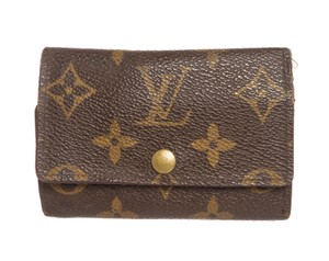 Louis Vuitton Louis Vuitton Monogram Canvas Leather 6 Key Holder