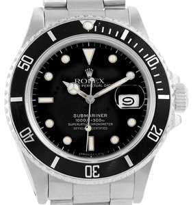 Rolex Rolex Submariner Date Stainless Steel Mens Vintage Watch 16800