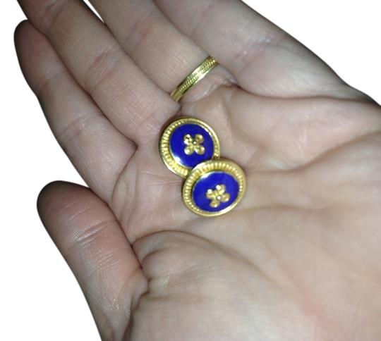 Preload https://item3.tradesy.com/images/greek-byzantine-gole-18k-gold-and-blue-afghanistan-lapis-earring-2299857-0-0.jpg?width=440&height=440