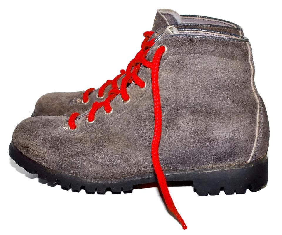 10093ed92d4 Gray Suede Leather Hiking / Mountaineering Made In Italy Boots/Booties Size  US 6 Regular (M, B) 42% off retail