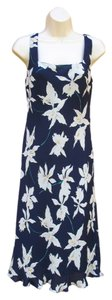 Lauren by Ralph Lauren short dress Blue Floral on Tradesy