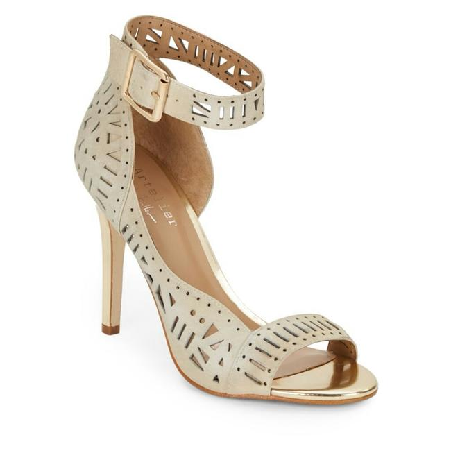 Item - Nude/Cream and Gold Artelier Formal Shoes Size US 10 Regular (M, B)