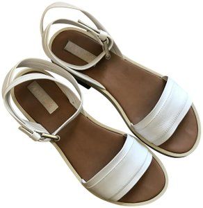 See by Chloé Robin Platform Leather Comfort Fit White, Black, Silver, Brown Sandals
