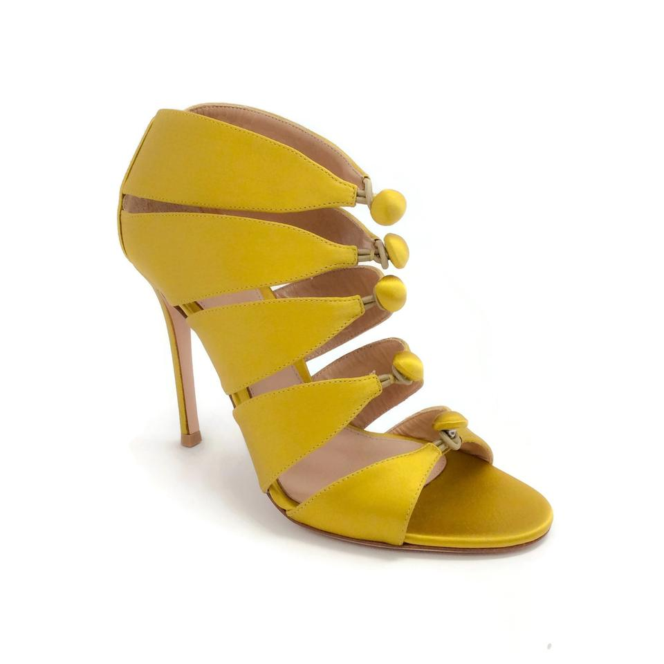 womens Gianvito Rossi diversity Mustard Harlow Pumps packaging diversity Rossi b4e41e