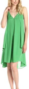 Rebecca Minkoff short dress green on Tradesy