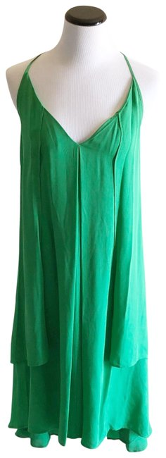 Rebecca Minkoff short dress green on Tradesy Image 2