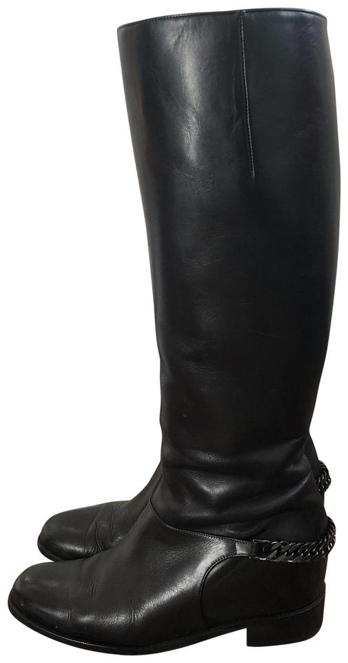 87ca68147ef Black Cate Flat Boots/Booties