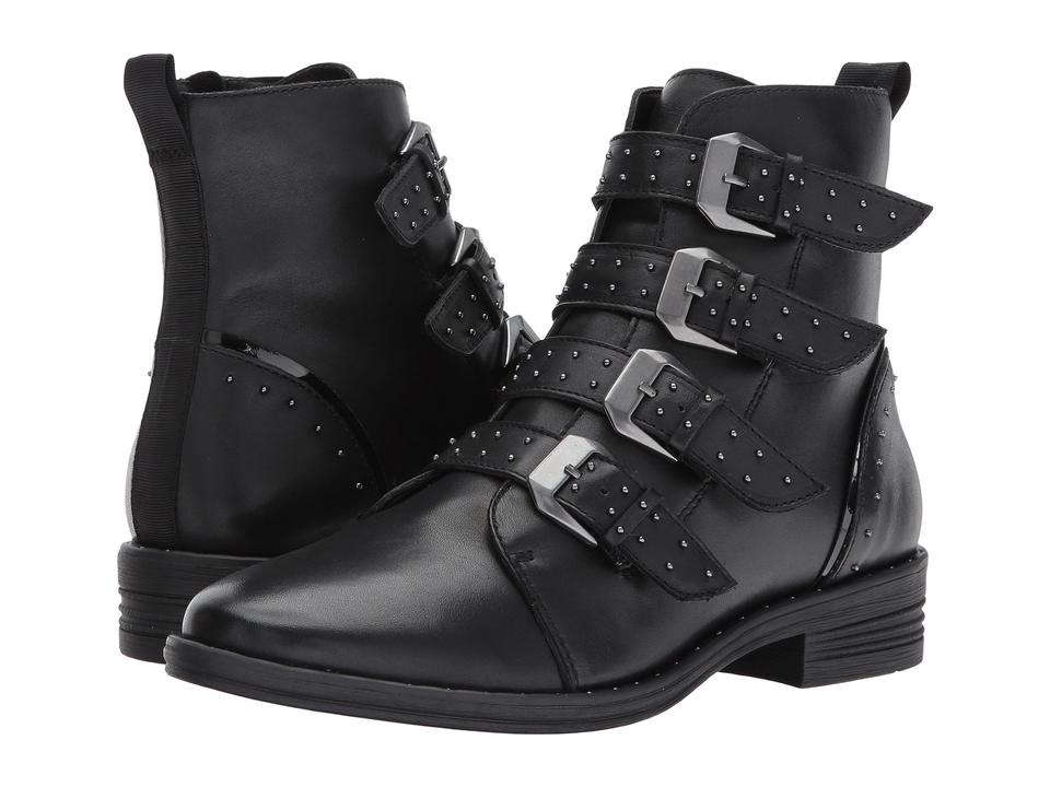 52128b945bc Steve Madden Pursue Studded Buckle Boots Booties Size US 6 Regular ...