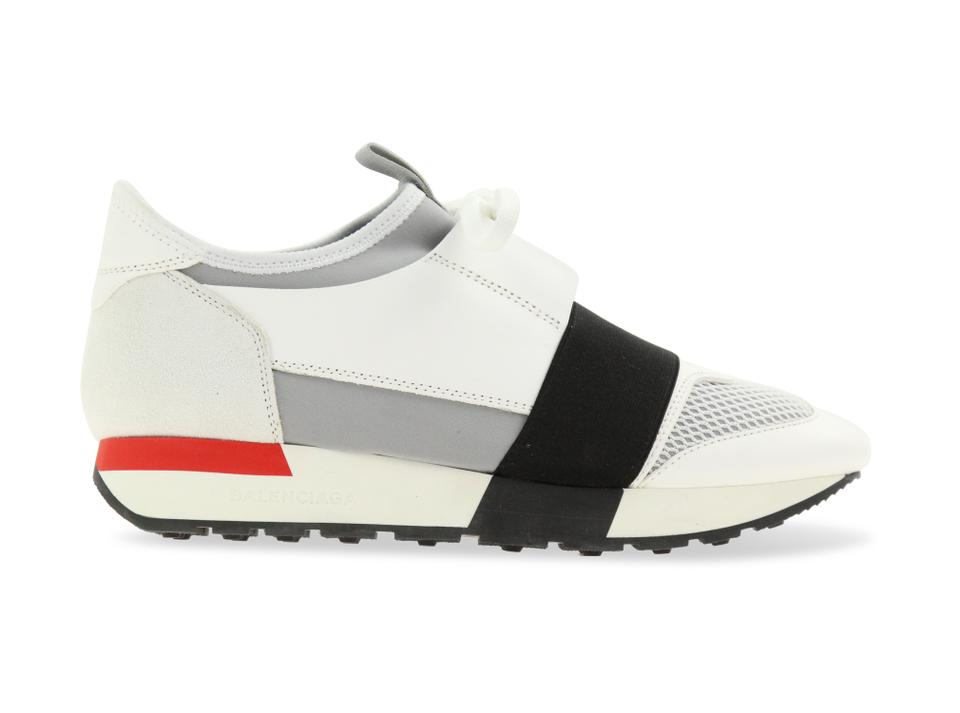 3b14e0ae1666 Balenciaga Grey Race Runner Sneakers Size EU 37 (Approx. US 7 ...