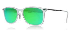 Ray-Ban New Ray Ban Unisex Sunglasses RB4225 646/3R Gunmetal Frame Green Lens