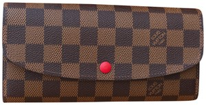 Louis Vuitton Brown and red inside Clutch