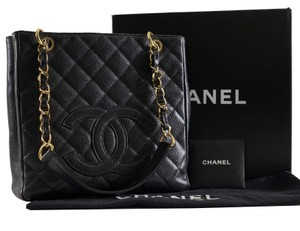 Chanel Timeless Classic Caviar Leather Shoulder Bag